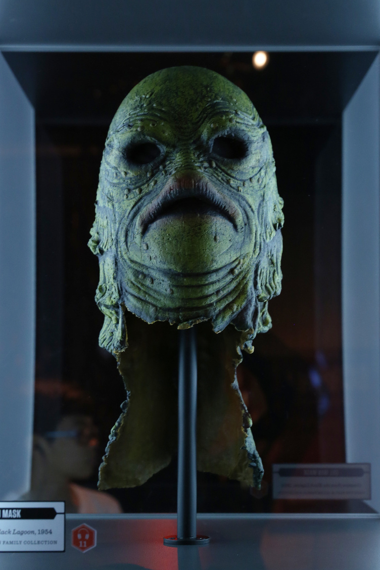 Gill-man maszk (Creature from the black lagoon, 1954).