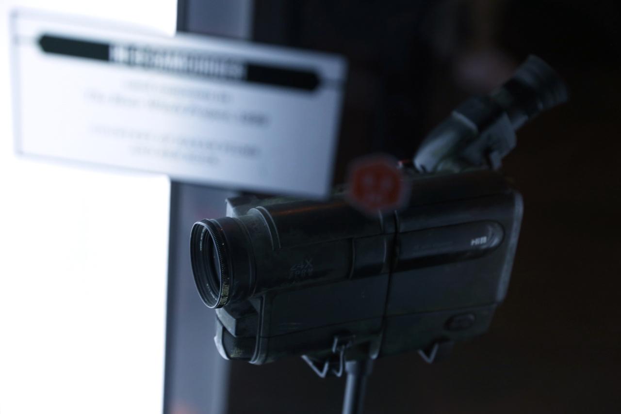 HI-8 videocamera az 1999-es Ideglelésből.