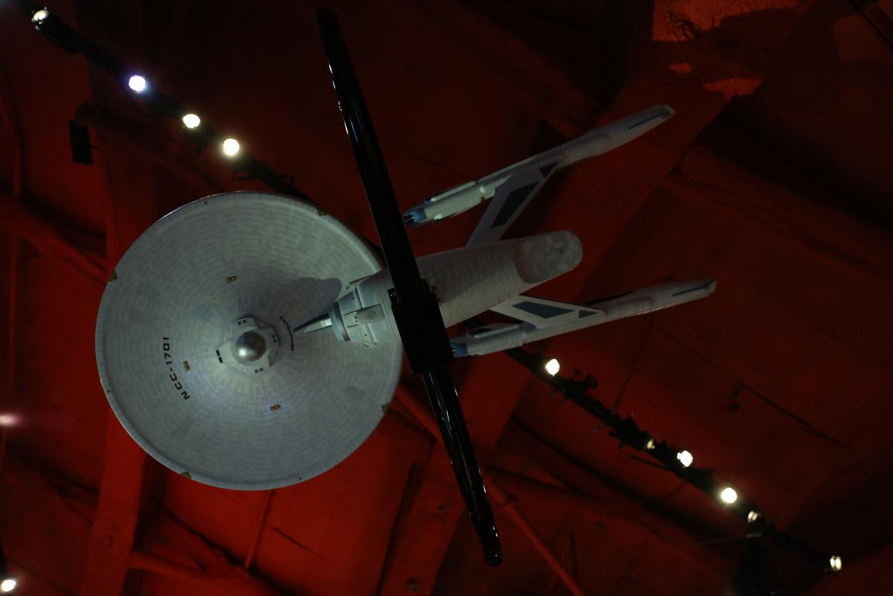 Az újratervezett USS Enterprise (NCC-1701) Constitution-osztályú csillaghajó, amit a Star Trek III: Spock nyomában című 1984-es mozifilmben felrobbant Kirk kapitány.