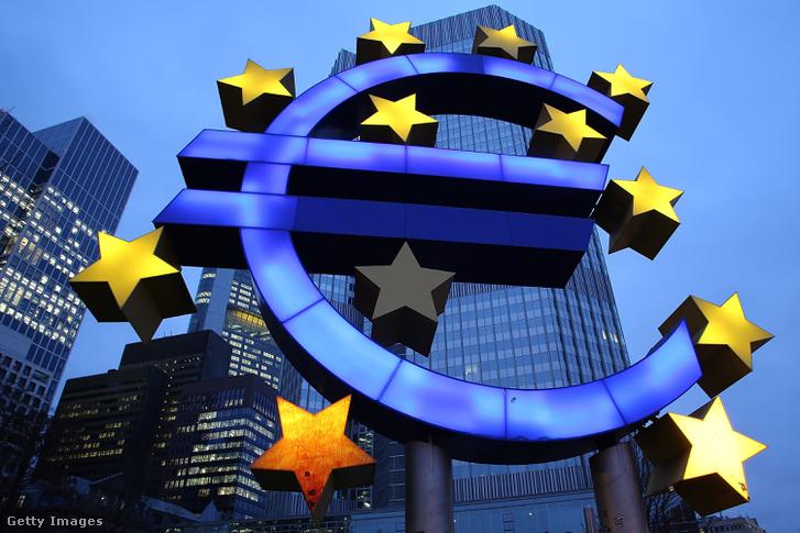 Az Európai Központi Bank épülete Frankfurtban