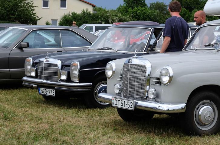 Milyen vicces, ott, Ornbauban még nem gondoltam volna, hogy rövidesen mindkét kocsi az enyém lesz
