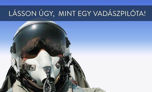 pilóta felirattal
