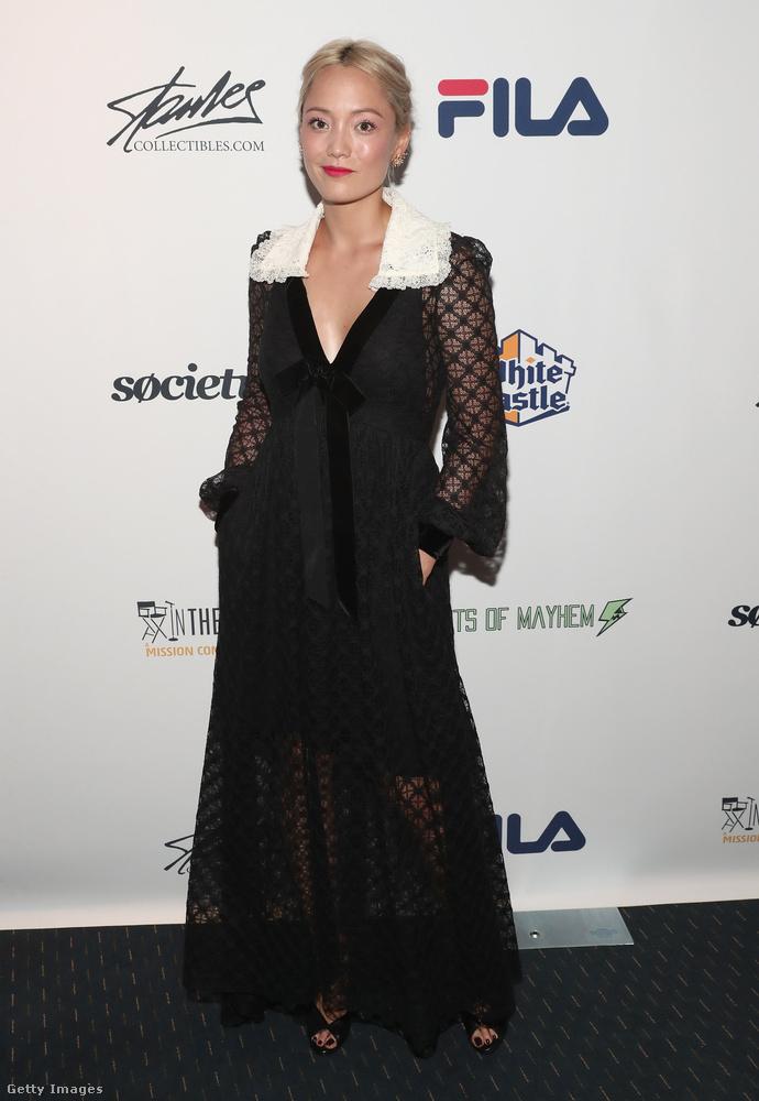 Ő Pom Klementieff, kanadai színésznő.