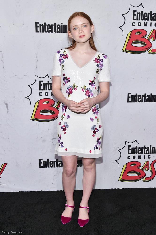 A 15 éves Sadie Sink tulajdonképpen Millie Bobby Brown kolleganője, ő a vagány gördeszkás csaj a Stranger Things 2