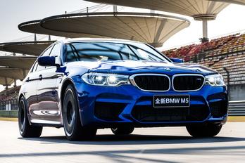 Rekordot futott az új BMW M5