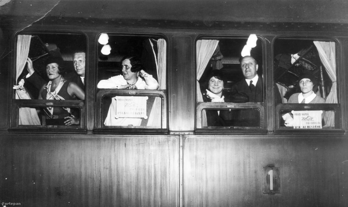 Vonat ablaka, ismeretlen helyszín, 1930