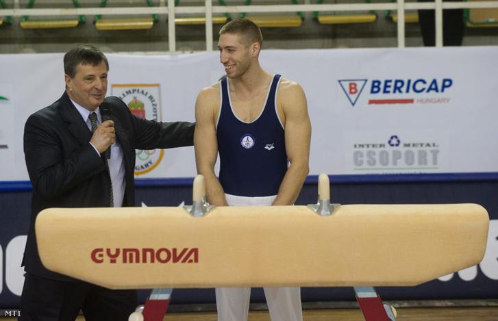 Magyar Zoltán és Berki Krisztián tornász 2011-ben