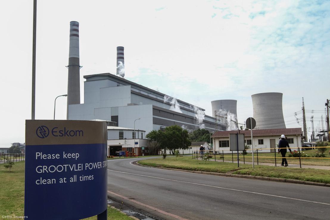 Az Eskom egyik erőműve