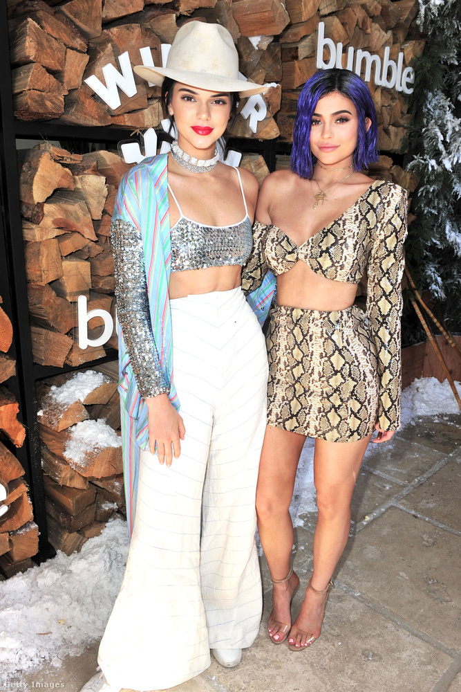Kylie Jenner több helyre is elkísérte modell nővérét 2017-ben