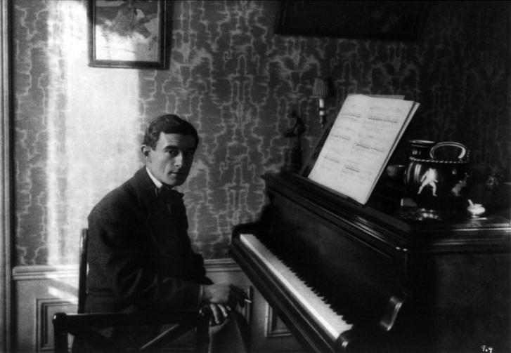 Ravel a zongoránál, 1912