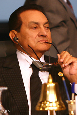 Hoszni Mubarak, elnök