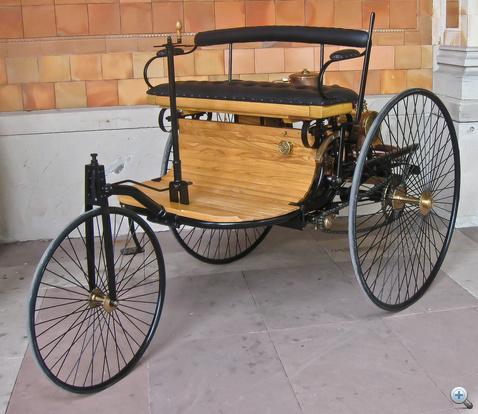 Patent-Motorwagen 1886