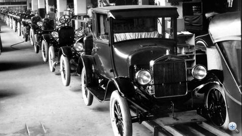 Elsőként a Ford Model T készült futószalagon