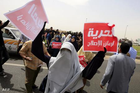 A MT egyik egyiptomi támogatója