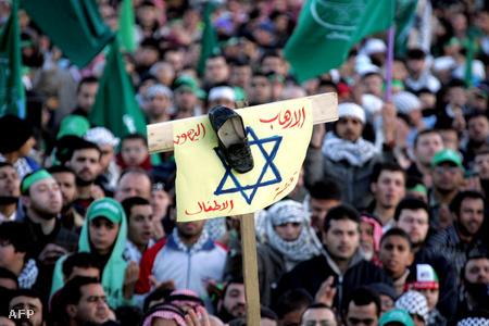 Izraelellenes tüntetés