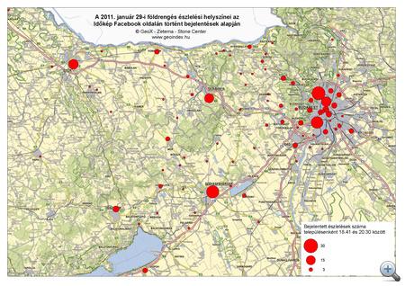 GeoIndex földrengés 20110129 1