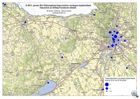 GeoIndex földrengés 20110129 2