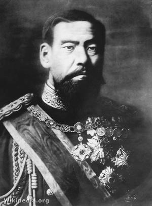 Meidzsi császár idős korában