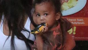 Három napra kórházba került Kim Kardashian kétéves kisfia