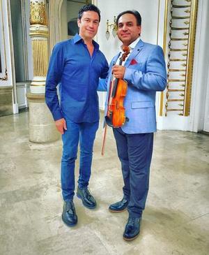 Mario Frangoulis és Mága Zoltán
