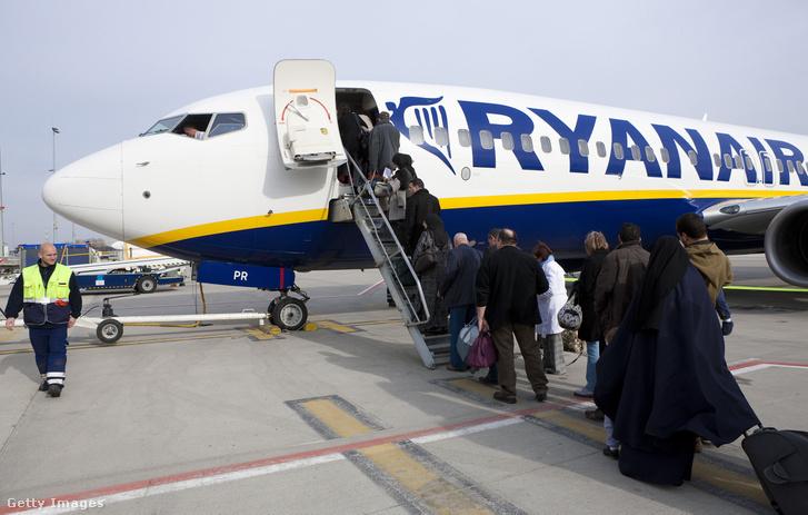 Az incidens a Ryanair FR8164 járatán (Boeing 737-800) történt (képünkön a cég egyik Boeing 737-800-as gépe)