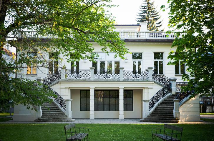 Klimt Villa, északi homlokzat