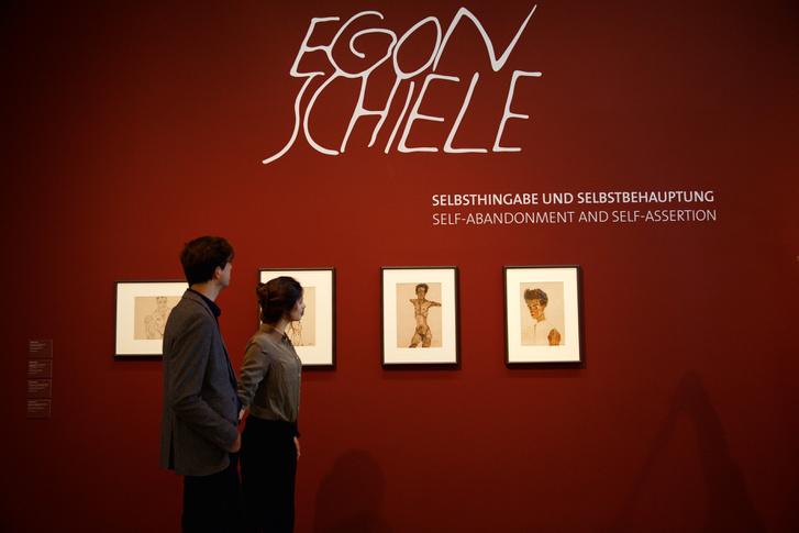 Schiele gyűjtemény Leopold Múzeum, Bécs