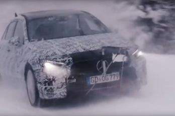 Felvillantották a következő Mercedes A osztályt