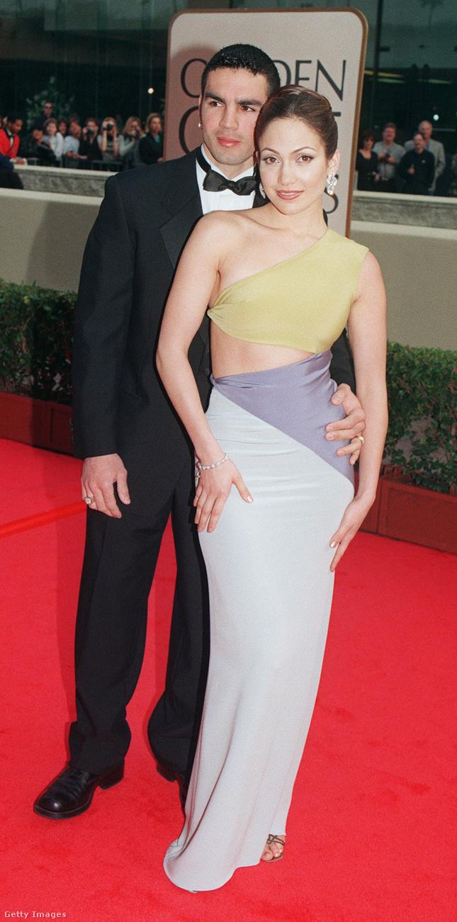 Az énekesnő (és színésznő) itt még volt férjével, Ojani Noával érkezett az eseményre