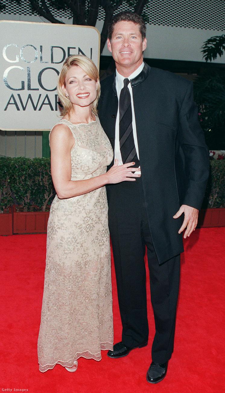 A most 65 éves David Hasselhoff második feleségével, Pamela Bachhal érkezett az eseményre, de már ők sincsenek együtt régóta