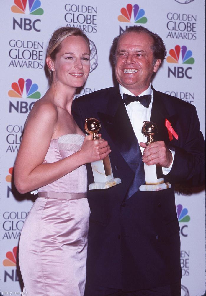 Jack Nicholsonnal játszottak együtt