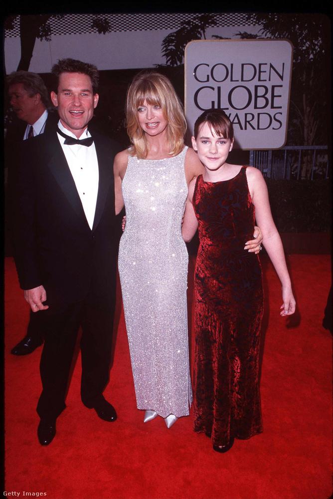 Goldie Hawn és sosemleszaférje Kurt Russell jórészt Jena Malone-nal töltötték az estét