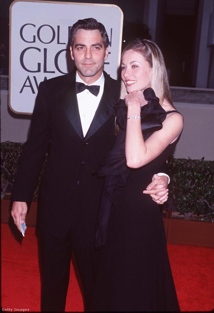 George Clooney 1996-ban ismerte meg a képen látható francia pincérnőt, Céline Balitrant, akivel 1999-ig éltek együtt