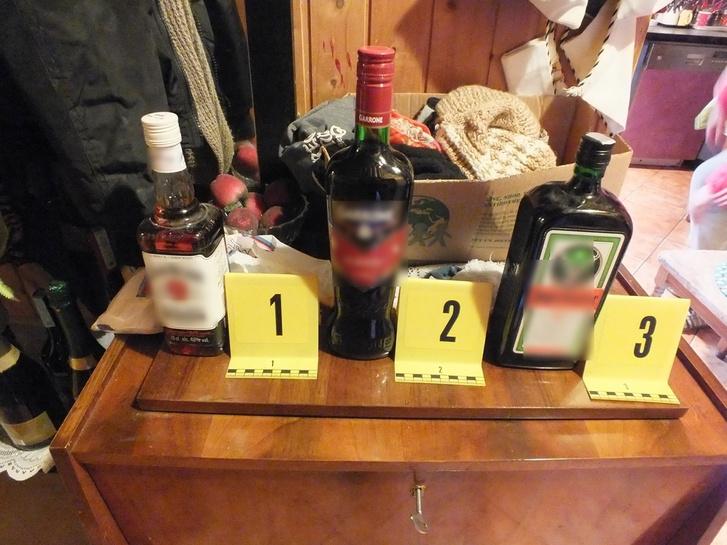 A lefoglalt mérgezett italok