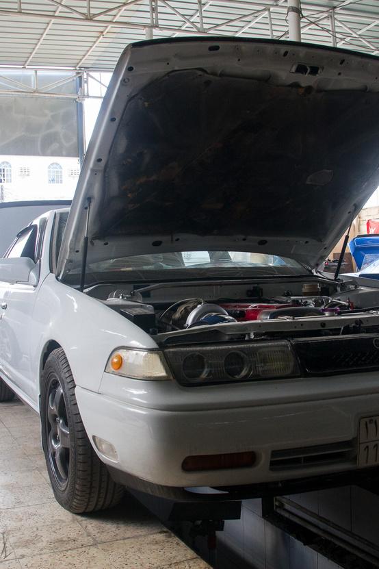 Nissan Cefiro, Toyota motorral
