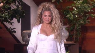 Khloé Kardashian reméli, hogy nem kövérnek nézik, hanem terhesnek