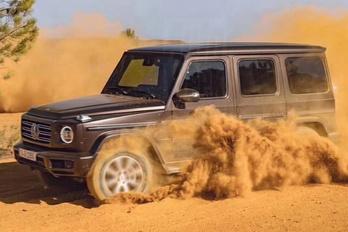 Kiszivárgott képeken az új G Mercedes