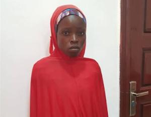 A kiszabadított diáklány Salomi Pugu