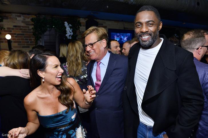 Molly Bloom, Aaron Sorkin és Idris Elba a film világpremierjén, Torontóban