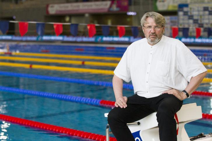 Hargitay András olimpiai bronzérmes világ- és Európa-bajnok úszó a magyar úszóválogatott szövetségi kapitánya