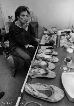 Rudolf Nurejev a színfalak mögött