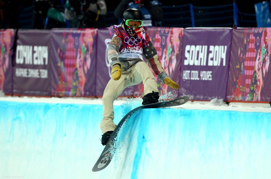 Shaun White a 2014-es téli olimpián Szocsiban