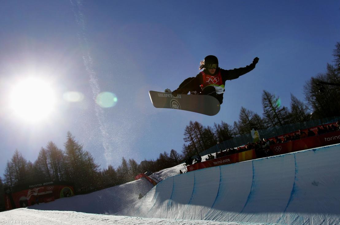 Női félcső versen a 2006-os téli olimpián