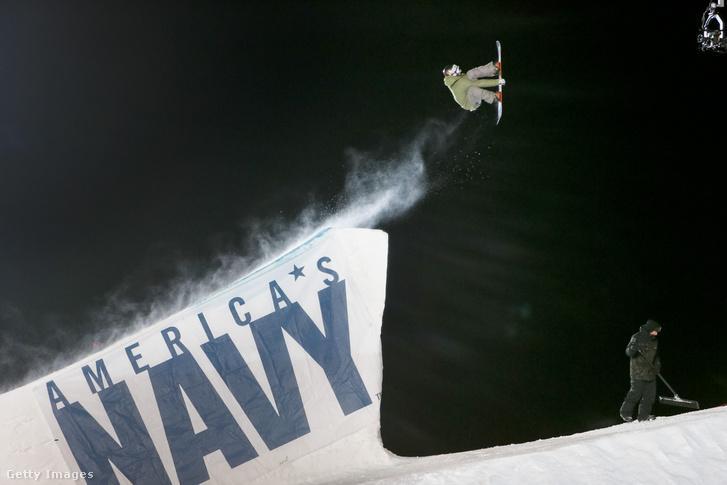Big air verseny a 2015-ös téli X Games bajnokságon Aspenben
