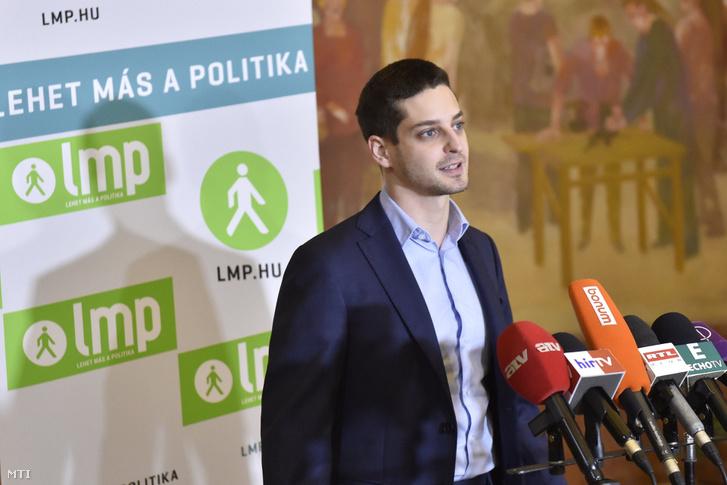Ungár Péter az LMP elnökségi tagja