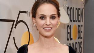 Natalie Portman keményen beszólt a Golden Globe-on