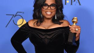 Oprah olyan beszédet mondott a Golden Globe-on, hogy meg akarják választani elnöknek