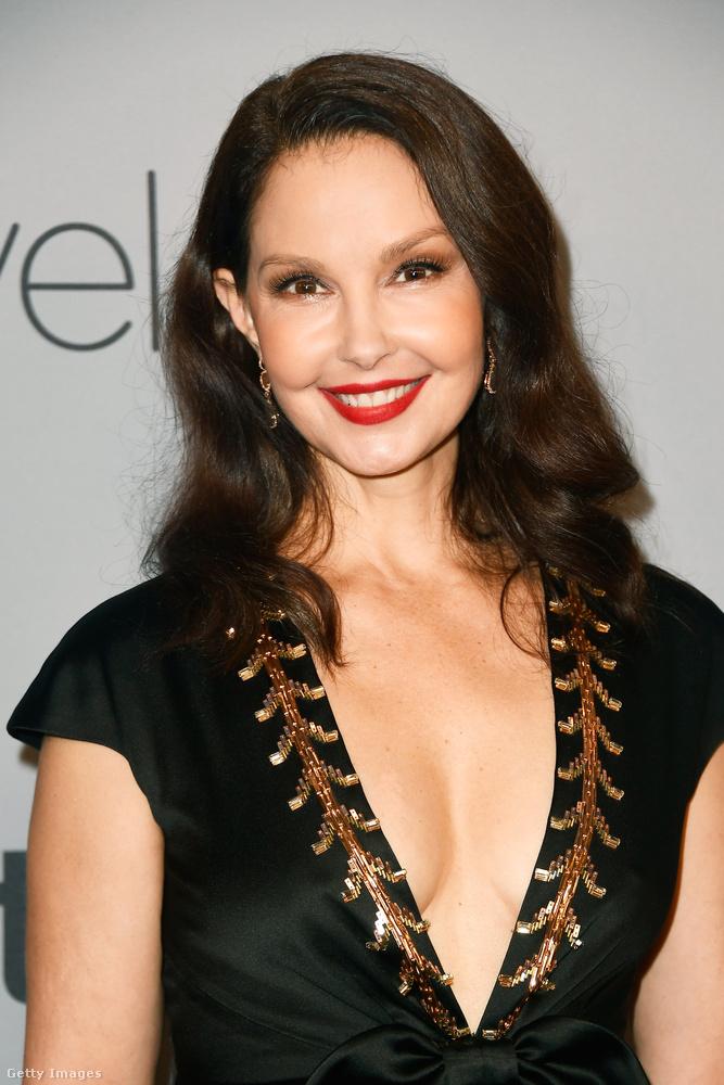 Ahogy Ashley Judd sem, aki az elsők között szólalt fel nyíltan Harvey Weinstein ellen.