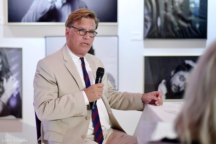 Aaron Sorkin a Zürichi Filmfesztivál sajtókonferenciáján