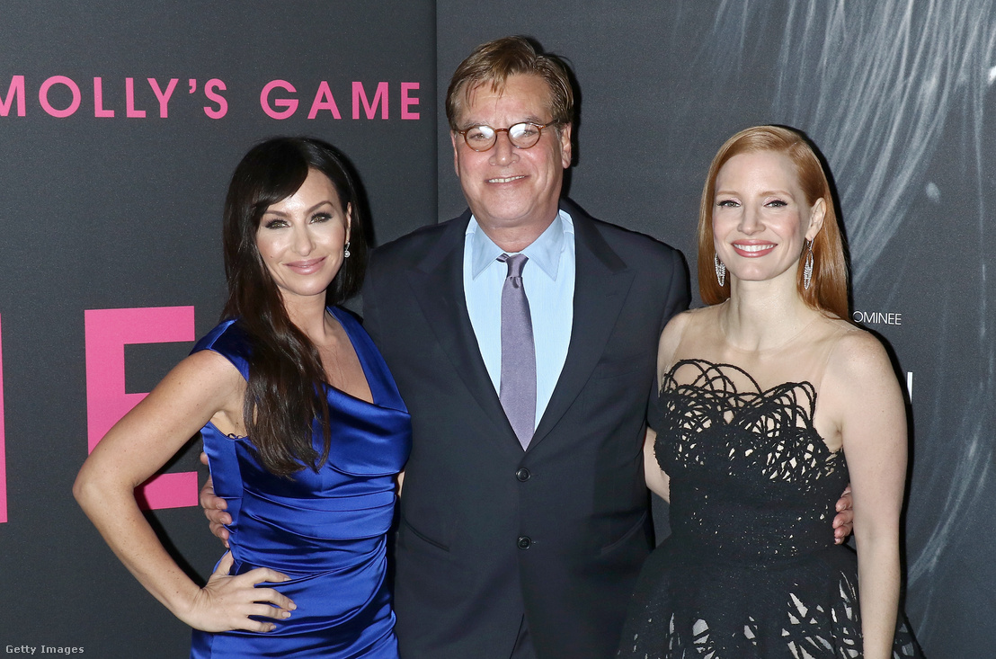 Molly Bloom, Aaron Sorkin és Jessica Chastain